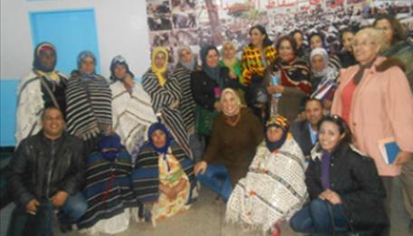 Promotion de l'artisanat féminin d'Imilchil