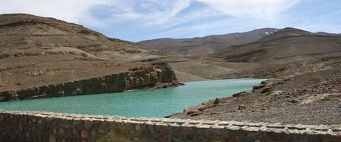 Conservation des sols et des eaux dans le bassin versant de la vallée Assif Melloul