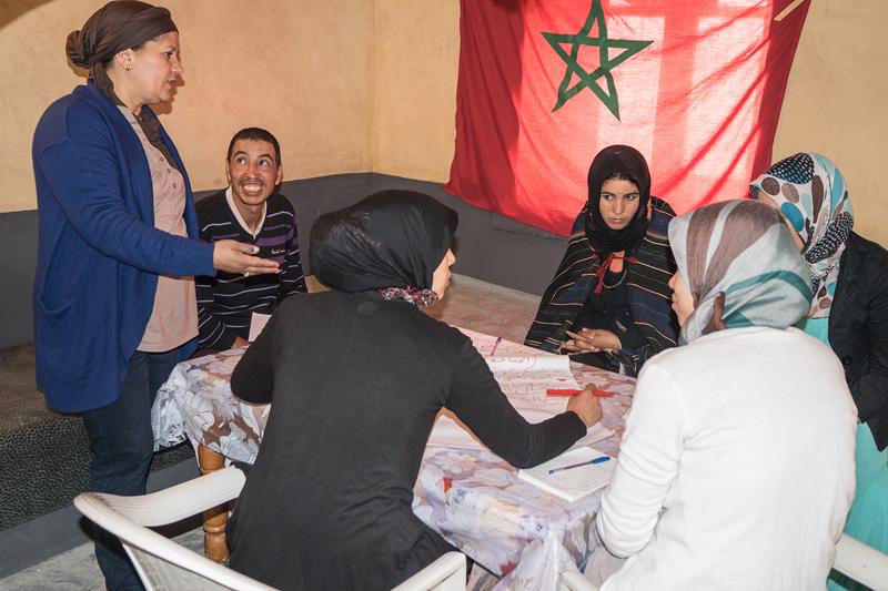 Projet de renforcement des capacités des femmes du Haut-Atlas Oriental pour leur autonomisation (2012-2014)