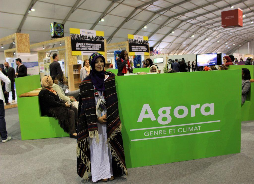 Akhiam était présente à la COP22